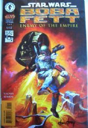 Boba Fett Enemy of the Empire #1 Dynamic Forces Signed Ken Kelly DF COA Star Wars comic book